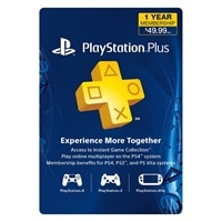 SONY ENTERTAINMENT Sony PlayStation Plus - Subscription license ( 1 year ) - PS3, PlayStation Vita, PlayStation 4