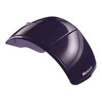 Microsoft Arc Wireless Laser Mouse Eggplant Purple $17.99