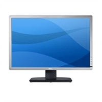 "Dell UltraSharp U2412M 61cm(24"") skärm i widescreenformat VGA,DVI-DP (1920×1200) silverfärgad"