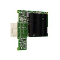 Mezaninová I/O karta Emulex LPM16002 16 Gb/s Duálny port Fibre Channel, instaluje zákazník