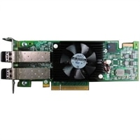Adaptér HBA Dell Emulex LPe16002B, Duálny port 16GB pro technologii Fibre Channel, Nízkoprofilový