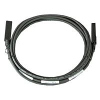 Dell Networking, kabel, SFP+ to SFP+ 10GbE, twinaxiální kabel pro přímé připojení, pro Cisco FEX B22, 3m,CusKit