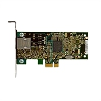 Ethernetová sieťová karta Dell: karta Broadcom PCIe 5722 10/100/1000 (polovičná výška)