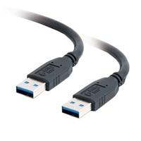 C2G - Kabel USB - 9 pinů USB typ A (M) - 9 pinů USB typ A (M) - 1 m ( USB / USB 2.0 / USB 3.0 ) - černá