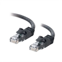 C2G Cat6 550MHz Snagless Patch Cable - Patch kabel - RJ-45 (M) - RJ-45 (M) - 3 m (9.84 ft) - CAT 6 - lisovaný, vinutý, bez p?ekážek, zavedený - ?erná