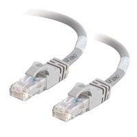 C2G Cat6 550MHz Snagless Patch Cable - Patch kabel - RJ-45 (M) - RJ-45 (M) - 30 m (98.43 ft) - CAT 6 - lisovaný, vinutý, bez p?ekážek, zavedený - šedá