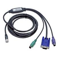 Dell kabel klávesnice / videa / myši (KVM) - 3.05 m