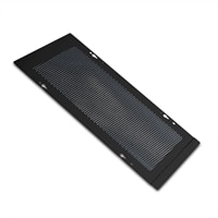 APC - Cable shielding trough cover kit (ventilated) - černá - pro P/N: AR3100, AR3107, AR3200, AR3300, AR3307