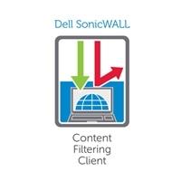 SonicWall Content Filtering Client - Licence na předplatné (3 roky) + Dynamic Support 24X7 - 750 uživatelů