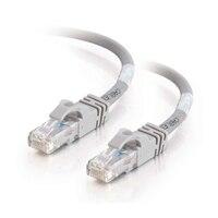 C2G Cat6 550MHz Snagless Patch Cable - Patch kabel - RJ-45 (M) - RJ-45 (M) - 50 cm (19.69'') - CAT 6 - lisovaný, vinutý, bez p?ekážek - šedá