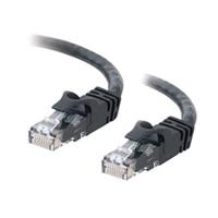 C2G Cat6 550MHz Snagless Patch Cable - Patch kabel - RJ-45 (M) - RJ-45 (M) - 10 m (32.81 ft) - CAT 6 - lisovaný, vinutý, bez p?ekážek - ?erná