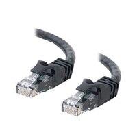 C2G Cat6 550MHz Snagless Patch Cable - Patch kabel - RJ-45 (M) - RJ-45 (M) - 15 m (49.21 ft) - CAT 6 - lisovaný, vinutý, bez p?ekážek - ?erná