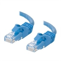 C2G Cat6 550MHz Snagless Patch Cable - Patch kabel - RJ-45 (M) - RJ-45 (M) - 2 m (6.56 ft) - CAT 6 - lisovaný, vinutý, bez p?ekážek - modrá
