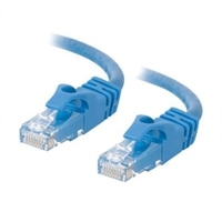 C2G Cat6 550MHz Snagless Patch Cable - Patch kabel - RJ-45 (M) - RJ-45 (M) - 3 m (9.84 ft) - CAT 6 - lisovaný, vinutý, bez p?ekážek, zavedený - modrá