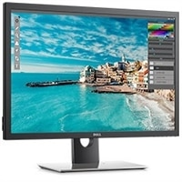 Dell UltraSharp 30-skærm med PremierColour - UP3017 Sort