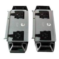 Add-on Front og Rear Caster til VRTX Tower chassis - Sæt