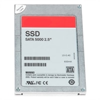 Dell Solid State -harddisk - 480 GB SATA 6Gbps 2.5in Hot Plug 3.5in HYB CARR