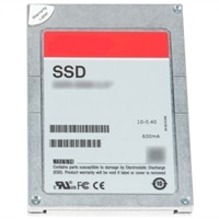 """Dell 480 GB Solid State-harddisk Serial Attached SCSI (SAS) Læsekrævende 12Gbps 512e 2.5"""" Drev Kabelforbundet Drev - PM1633a"""