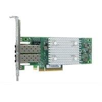 Dell QLogic 2692 Dual Porte Fibre Channel-værtsbusadapter - lav profil