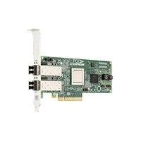 Dell Emulex LPE12002 Dual Channel 8Gb-værtsbusadapter PCIe- lav profil