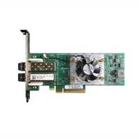Dell Dual porte 16GB Qlogic 2662 Fibre Channel-værtsbusadapter, fuld højde, CusKit