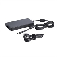 Strmforsyning+netledning: Slank, europisk 240 W AC-adapter med europisk netledning