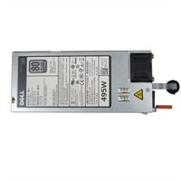 Single, Hot-plug Strømforsyning (1+0), 495 watt ,CusKit