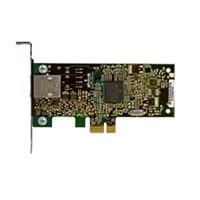 Dell Ethernet-kort: Broadcom 5722 10/100/1000 PCIe-kort (halv højde)