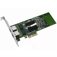 Dell Dual porte 1 Gigabit Server Adapter Intel Ethernet I350 PCIe-netværkskort fuld højde, Cuskit