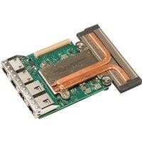 Intel X550 2 porte 10Gb Base-T + I350 2 porte 1Gb Base-T, rNDC, kundeinstallation