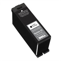 Sort Dell engangsbrug V313/V313w-blækpatron med høj kapacitet (sæt)