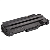 Dell 1130/1130n/1133/1135n Sort tonerpatron med standardkapacitet - 1500 siders