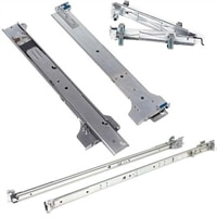 Dell ReadyRails 1U Faste skinner til 2/4-Post Racks