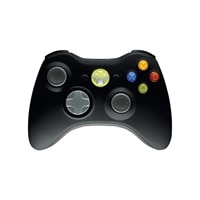 Microsoft Xbox 360 Wireless Controller for Windows - Gamepad - 16 knapper - trådløs - sort - for PC, Microsoft Xbox 360