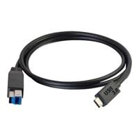 C2G - USB-kabel - USB Type B (han) til USB-C (han) - USB 3.1 - 3 m - sort