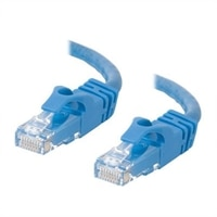 C2G Cat6 550MHz Snagless Patch Cable - Patchkabel - RJ-45 (han) - RJ-45 (han) - 15 m (49.21 ft) - CAT 6 - støbt, flertrådet, snagless, beskyttelseskappe for stik - blå