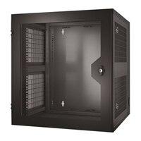 APC NetShelter WX - Rack - vægmonterbar - sort - 13U - 19-tomme - for P/N: SUA1000RM2U, SUA1000RM2U-TU, SUA1000RMI2U