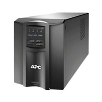 APC Smart-UPS 1000 LCD - UPS - AC 230 V - 700-watt - 1000 VA - RS-232, USB - 8 udtag - sort