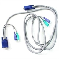 Dell - 2,1 m - Kabel fr Tastatur, Monitor und Maus - Fr 1x8-Port-Switchbox - Kit