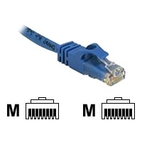 C2G Cat6 550MHz Snagless Patch Cable - Patch-Kabel - RJ-45 (M) - RJ-45 (M) - 1 m - CAT 6 - gepresst, verseilt, glatt, mit Knickschutz - Blau