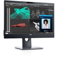 Dell 24-Zoll-Monitor für Videokonferenzen - P2418HZ