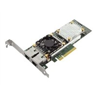 Dell QLogic 57810 Dual-Port- 10 Gigabit Base-T Serveradapter Ethernet PCIe-Netzwerkkarte