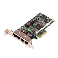 Dell Broadcom 5719 Quad Port 1 Gigabit -Netzwerkkarte Low-Profile, Cuskit
