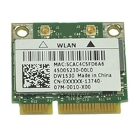 Drahtlos : EMEA Dell  Drahtlos 1530 (802.11 a/b/g/n )  Minikarte