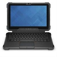 Dell Tastaturabdeckung mit Ständer für den Latitude 12 Rugged Tablet-PC - US Intl