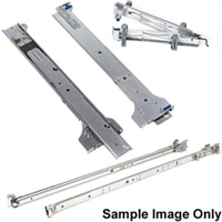 PE M1000e Versa Rail für 4 post round hole racks (Paket )