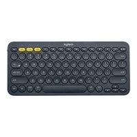 Logitech K380 - Tastatur - Bluetooth - Schweizer - Schwarz