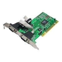INTERFACE SERIAL 2 PORT - PCI OUTLET 2X DSUB 9POL