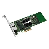 Intel Gigabit ET Dual Port Server Adapter - Netzwerkadapter - PCI Express 2.0 x4 Low Profile - 10Mb LAN, 100Mb LAN, Gigabit LAN - 10Base-T, 100Base-TX, 1000Base-T - 2 Anschlsse (E1G42ETBLK)