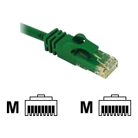 C2G Cat6 550MHz Snagless Patch Cable - Patch-Kabel - RJ-45 (M) - RJ-45 (M) - 10 m - CAT 6 - gepresst, verseilt, glatt, mit Knickschutz - grün